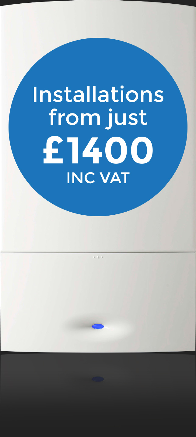 Boiler Installations from just £1400 INC VAT