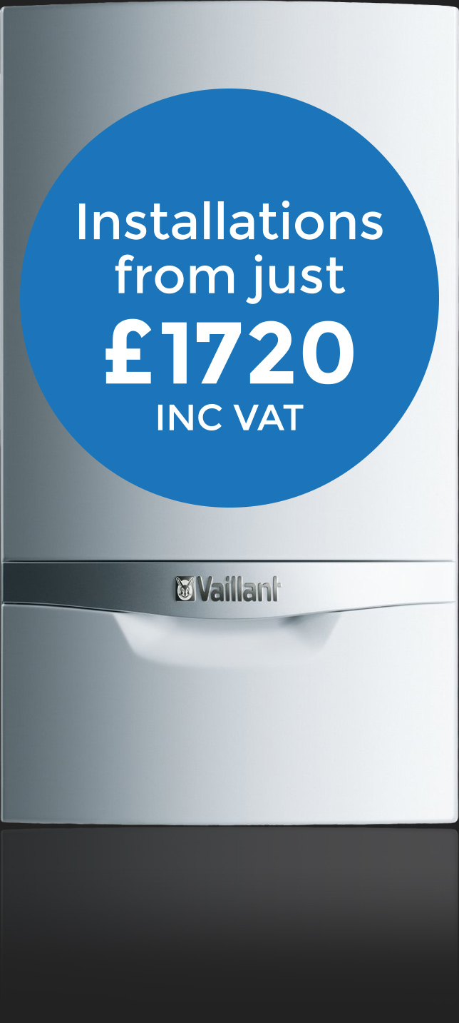 Boiler Installations from just £1720 INC VAT